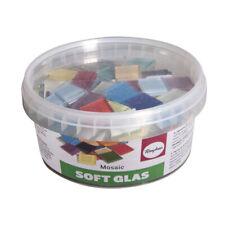 Mosaique Soft Glas 2x2cm env. 140 tesselles - Rayher