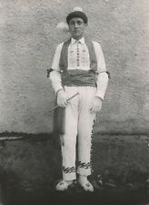 PAYS BASQUE c. 1938 - Jeune Homme Costume Traditionnel - NV 860