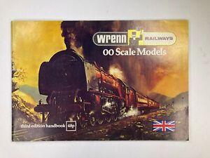 Wrenn Railways Third Edition Handbook - Excellent Condition - FREE POST