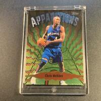 CHRIS WEBBER 1998 TOPPS APPARITIONS #A6 FOIL INSERT CARD NBA C-WEBB