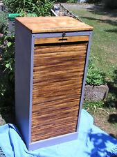 Schrank,Rolladenschrank,Büroschrank,Aufbewahrung,Möbel,Vintage,