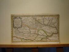 colorierte Landkarte Polen Ukraine Kupferstich Pultava Bender Podolien (100/06)