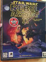Star Wars Rebel Assault II The Hidden Empire PC 1995 ms-dos windows game w box