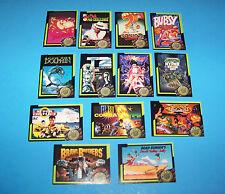 Video Game Cards Series #1 Team Blockbuster   (13 different)  Vintage 1993