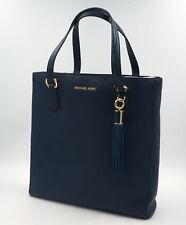 MICHAEL KORS Tasche Bedford Tote Handtasche Leder, Navy, Uvp 390Euro, NEU