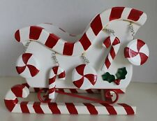 Christmas Sleigh With Peppermint Candies