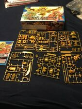 SD Gundam Sangokuden Brave Battle Warriors 2010 Gold Model Pieces.