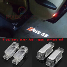Audi RS3 Logo LED Laser Projector Car Door Welcome Ghost Courtesy Shadow Lights