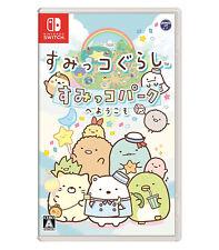 Sumikko Gurashi: Sumiko Park he Youkoso Card Nintendo Switch NS 2017 Japanese