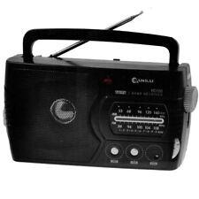 SanSai RD-768 AM/FM Portable Radio - Black