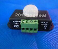 Auto-lighting Detector Infrared PIR Motion Sensor Switch For Led Lights DC12-24V