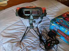 Nintendo Virtual Boy Video Game Console - Red/Black with Games. Display issue