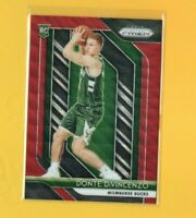 0228 	2018-19 Panini Prizm Prizms Ruby Wave #246 Donte DiVincenzo rookie