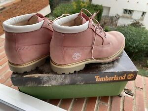 chaussure timberland femmes rose