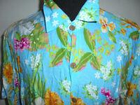vintage Hawaii Hemd shirt surf oldschool crazy pattern Freizeithemd XXL