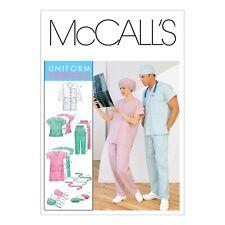 McCalls Schnittmuster M6107 - Arbeitsbekleidung - für Ärzte & Krankenhäuser