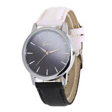 Fashion Ladies Women Colorful Leather Band Watch Analog Quartz Wrist Watch Gfit