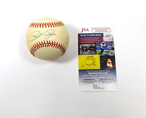 Pete Rose Signed ONL Baseball JSA Auto DA042438
