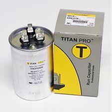 TitanPro Trcfd405 Hvac Round Dual Motor Run Capacitor. 40/5 Mfd/Uf 440/370 Volts