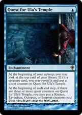 QUEST FOR ULA'S TEMPLE Worldwake MTG Blue Enchantment RARE