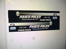 Pasco Washington Police Patrol Car Decals 1:64  two for one money
