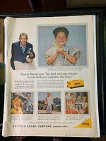 1950's Look Magazine Mickey Mantle Advertisement Fair+/Good Condition