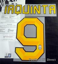 Juventus Laquinta 9 2010/11 & 2011/12 Football Shirt Name Set Home