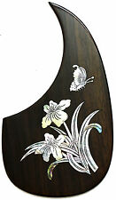 Acoustic guitar pickguard Rosewood Rightside abalone inlaid pattern-PGMTR33