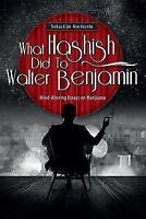 What Hashish Did to Walter Benjamin: Mind-Altering Essays on Marijuana (Paperbac