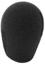 """Shure 503 515 545 replacement Black Foam 1"""" ID Windscreen from WindTech 600 5066"""