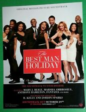 THE BEST MAN HOLIDAY MOVIE SOUNDTRACK BLIGE PHOTO POSTER LARGE WINDOW CLING