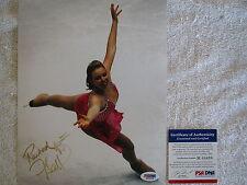RACHEL FLATT OLYMPIC FIGURE SKATER HAND SIGNEDCOLOR 8X10 W/ PSA COA M64698