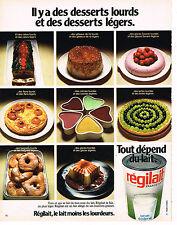 PUBLICITE ADVERTISING 024   1973   REGILAIT   lait écrémé sec