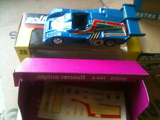 alpine renault a 441 2 litres  solido n 20