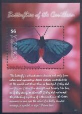 Dominica 2009 MNH MS, Atala Black Butterflies, Insects  (B3n)