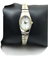 Pulsar Silver Two-Tone-Stainless-Steel Bracelet Ladies Watch PC3092-H20