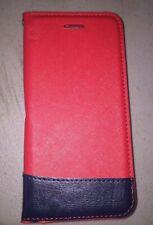 iPhone Seven Portfolio Wallet Case, Red