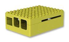 CAJA CARCASA RASPBERRY PI-BLOX LEGO AMARILLO RASPBERRY PI B+ 2 B 3 B ABS