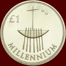 £1 Eire Millenium Commemmorative Punt Coin 2000