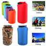 8L 15L Outdoor Waterproof Backpack Dry Bag Pouch Canoe Swimming Camping Floating