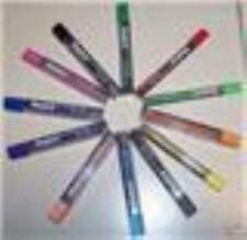 PENTEL 8 COLOR PENCIL 2MM LEAD REFILL 12 TUBES ALL COLORS 2/TUBE ASSORTED LEADS