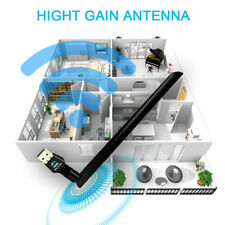 1200Mbps Dual Band 2.4/5Ghz Usb WiFi Adapter Dongle Wireless Network w / Antenna