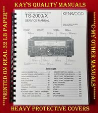 High Quality Kenwood TS-2000/X Service Manual  😊C-MY OTHER MANUALS😊