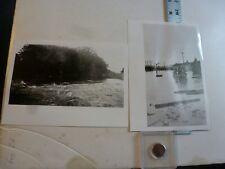 Vintage Photo-2 Photos Sweitzer Album Flood Jordan Cree 8/1933 Allentown PA 1993