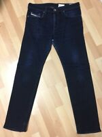 Men Diesel BUSTER STRETCH Denim 0607A DARK BLUE REGULAR SLIM W33 L32 H7 RRP£150