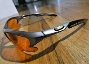 Ryders Eyewear VTX  Sunglasses-Silver-Black Frame