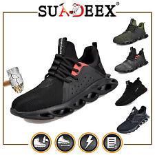 SUADEEX Arbeitsschuhe Sicherheitsschuhe Sneaker Stahlkappe S3 Wasserdicht unisex