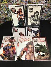 Fatale #1-6 Broadway Comics Bad Girl Art Shooter Jg Jones Complete Set Lot Of 6