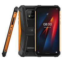 Rugged Cell Phone Unlocked 4G Android 10 64GB Octa Core Waterproof Smartphone