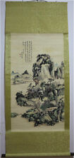 RARE Chinese Hanging Painting & Scroll Landscape By Huang Binhong 黄宾虹 MM9